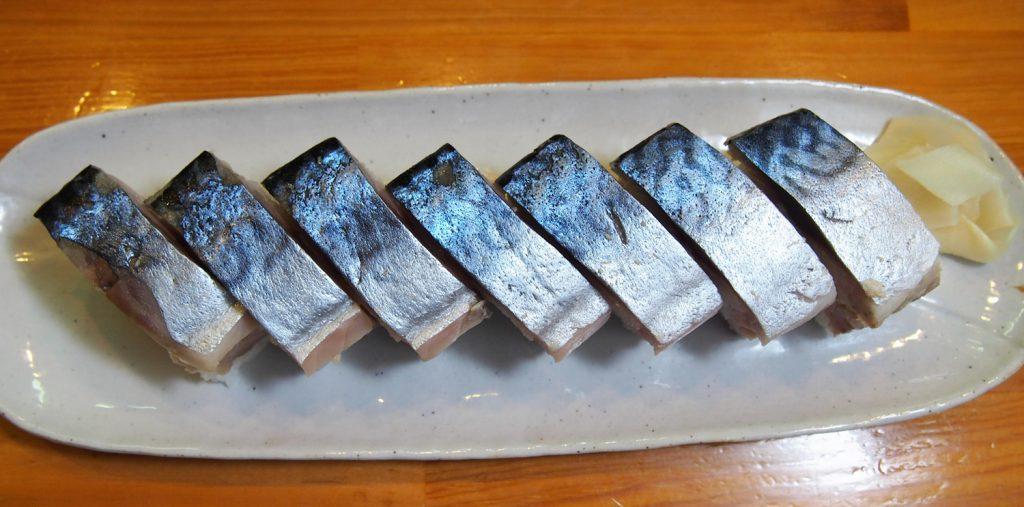 鯖の棒寿司(税込1,200円)